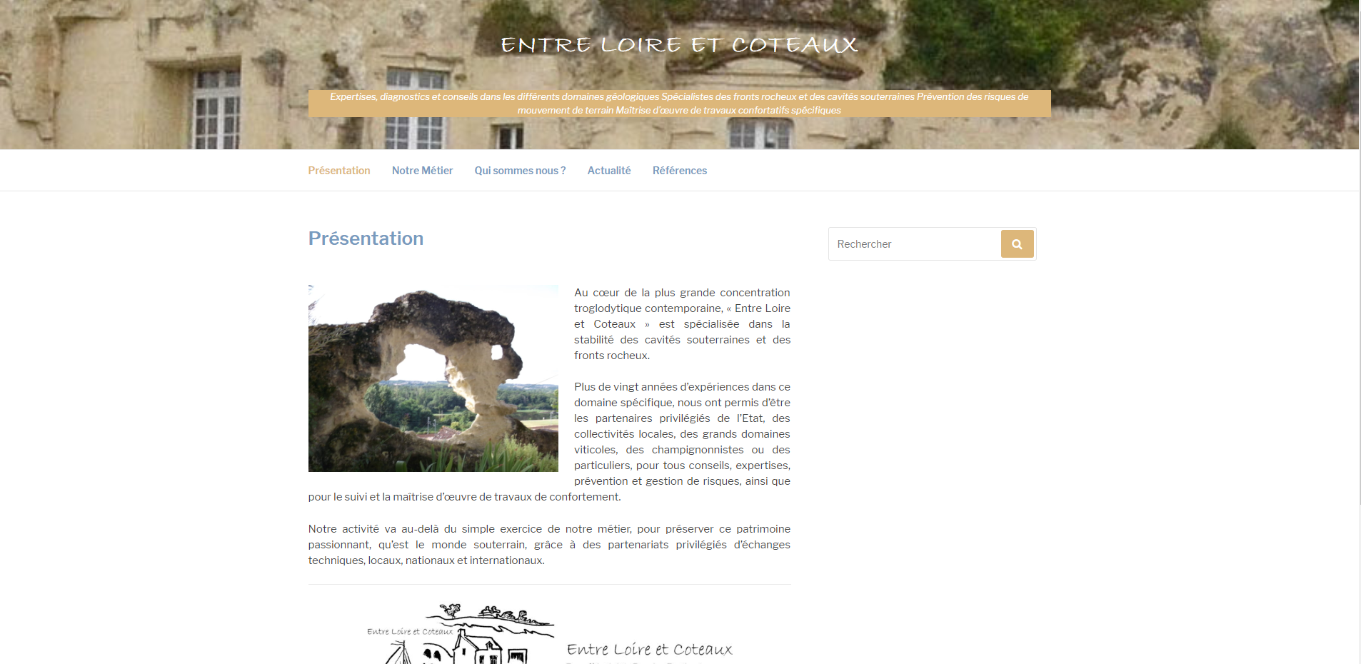 Pouget Informatique site internet
